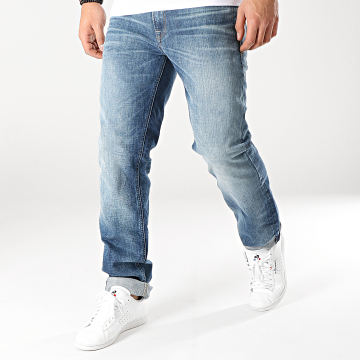 Jack And Jones - Jean Regular Clark Bleu Denim