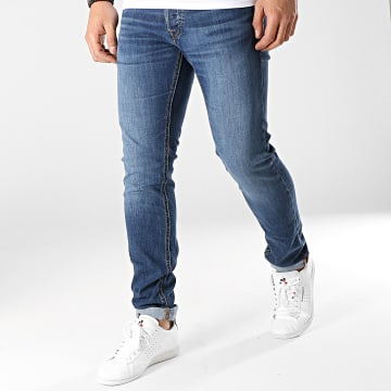 Jack And Jones - Jean Slim Glenn Original Bleu Denim