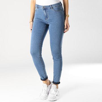 Vero Moda - Jean Slim Femme Julia Bleu Denim