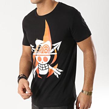 Tee Shirt Ace's Flag Noir