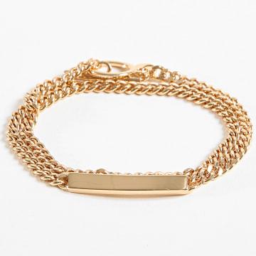 Bracelet Wrap ID BB17054 Doré