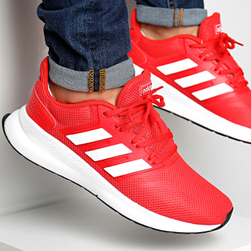 Adidas Originals - Baskets Runfalcon F36202 Activ Red Footwear White