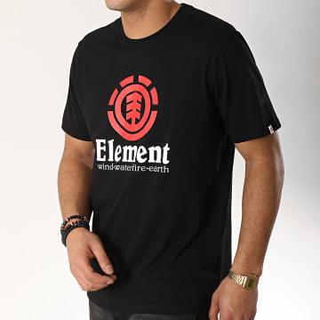 Element - Tee Shirt Vertical Noir