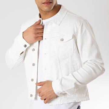 Veste Jean L758 Blanc