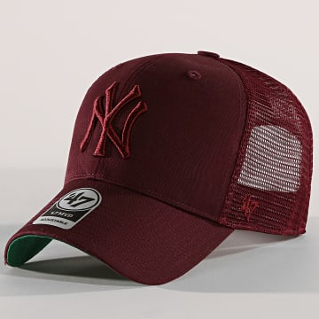 '47 Brand - Casquette Trucker New York Yankees MVP Branston BRANS17CTP Bordeaux