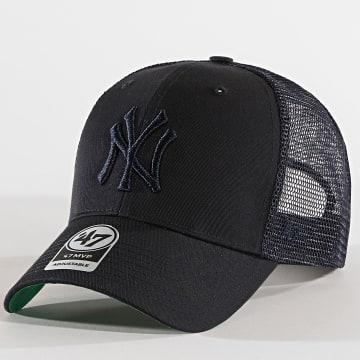 '47 Brand - Casquette Trucker New York Yankees MVP Branston BRANS17CTP Bleu Marine