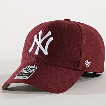'47 Brand - Casquette New York Yankees MVP MVP17WBV Bordeaux