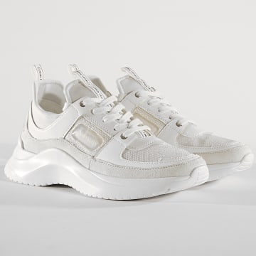 Baskets Femme Ultra Nappa E4484 White
