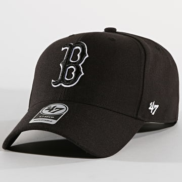 '47 Brand - Casquette Boston Red Sox MVP MVPSP02WBP Noir