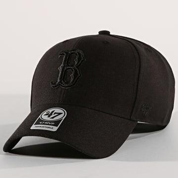 '47 Brand - Casquette Boston Red Sox MVP MVPSP02WBP Noir