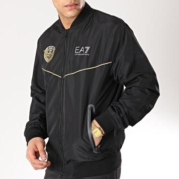 EA7 - Veste Zippée 3GPB10-PN28Z Noir Doré