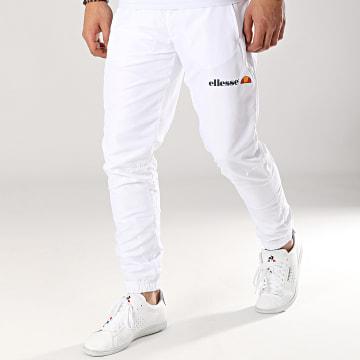Ellesse - Pantalon Jogging Dobby 1034N Blanc