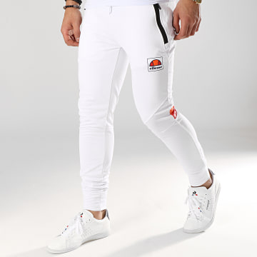 Pantalon Jogging Rayure 1034N Blanc