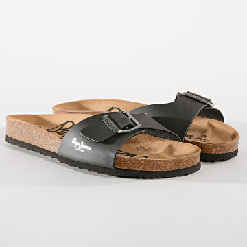 Pepe Jeans - Sandales Bios PMS90010 Gris Anthracite