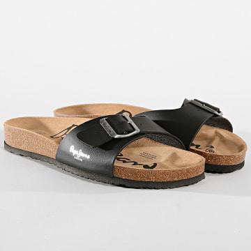 Sandales Bio PMS90010 Noir