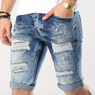 Short Jean 2810 Bleu Denim