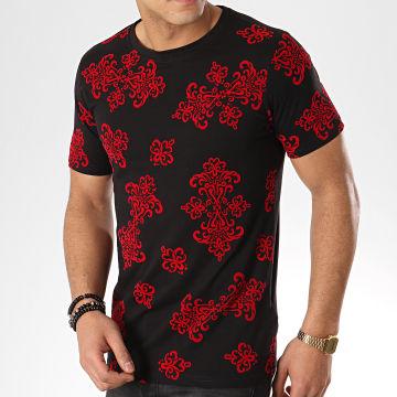 Berry Denim - Tee Shirt JAK-101 Noir Rouge Renaissance