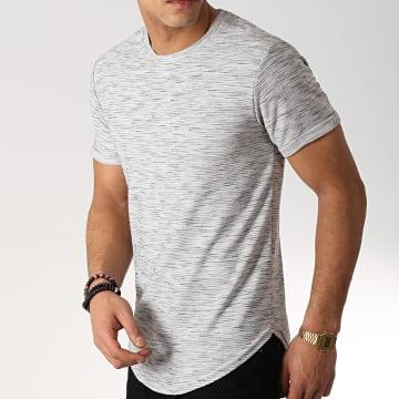 Frilivin - Tee Shirt Oversize 7241-FR72 Gris Chiné