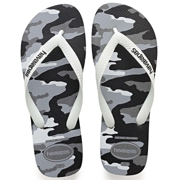 Havaianas - Tongs Top Camu 4141398 Gris Camouflage