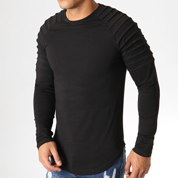 Tee Shirt Manches Longues Oversize 639 Noir