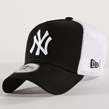 New Era - Casquette Trucker Clean New York Yankees 11588491 Noir Blanc