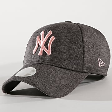 New Era - Casquette Femme New Jersey New York Yankees 80489231 Gris Anthracite Chiné