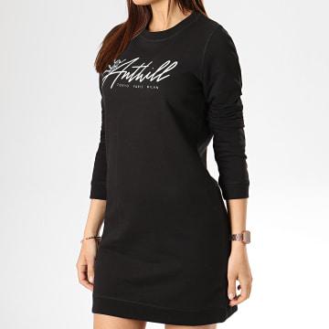 Anthill - Robe Femme Script Noir