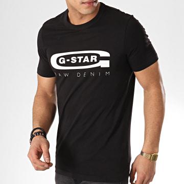 G-Star - Tee Shirt Graphic 4 D15104-336 Noir