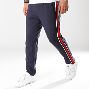 Pantalon Avec Bandes Vega Bleu Marine