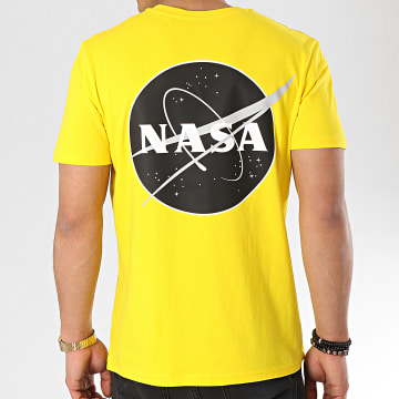 Tee Shirt Insignia Desaturate Jaune