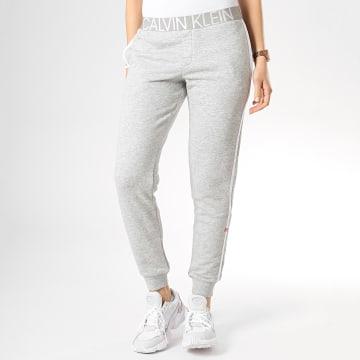 Pantalon Jogging Femme QS6188E Gris Chiné