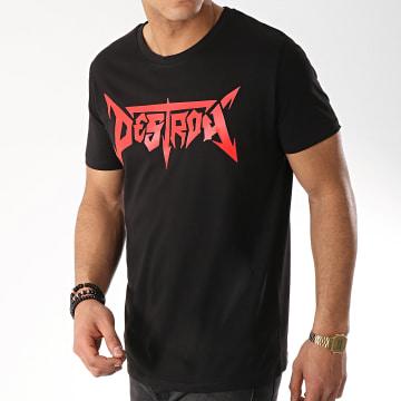 Seth Gueko - Tee Shirt Destroy Noir Rouge