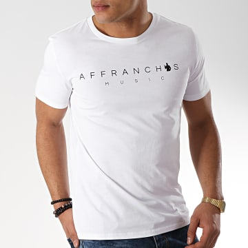 Sofiane - Tee Shirt Affranchis Music Blanc