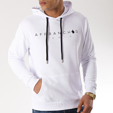 Sofiane - Sweat Capuche Affranchis Music Blanc