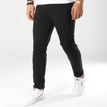 Selected - Pantalon Jersey Noir