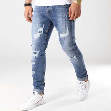Jean Slim A121 Bleu Denim