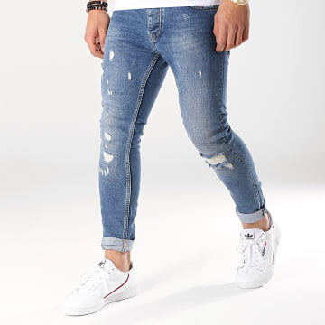 Jean Slim 4174 Bleu Denim