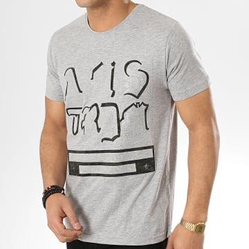 Classic Series - Tee Shirt Oversize 140 Gris Chiné