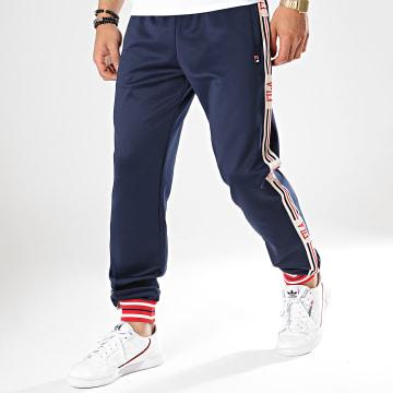 Pantalon Jogging Avec Bandes Lou 687006 Bleu Marine
