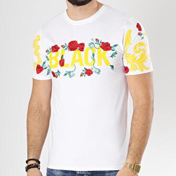 Tee Shirt JB18072 Blanc Floral
