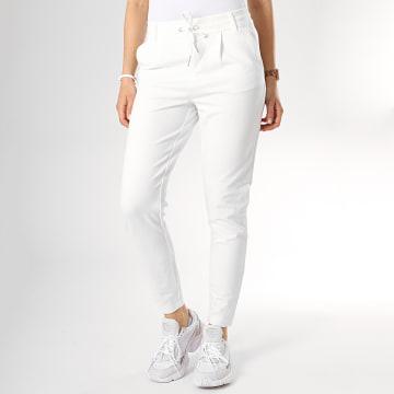 Pantalon Femme Pop Trash Easy Blanc