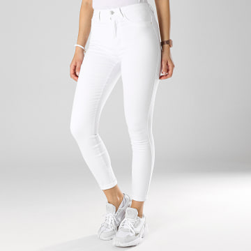 Only - Jean Skinny Femme Royal Blanc