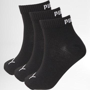 Puma - Lot De 3 Paires De Chaussettes 271080001 Noir