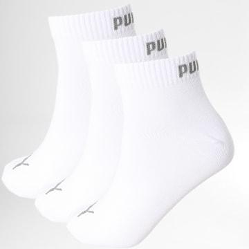 Puma - Lot De 3 Paires De Chaussettes 271080001 Blanc