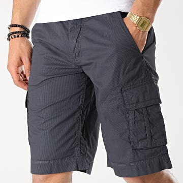 Teddy Smith - Short Cargo Sytro 3 Bleu Marine