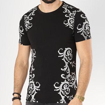 Tee Shirt 108 Noir Gris Renaissance