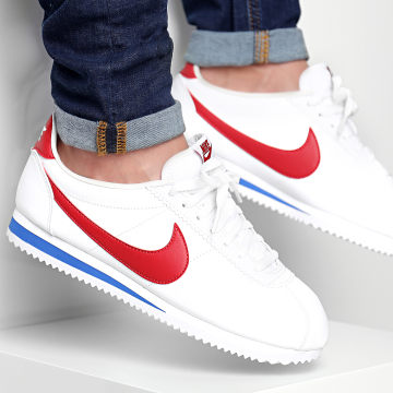 Baskets Classic Cortez Leather 749571 154 White Varsity Red