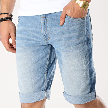 MZ72 - Short Jean Fura Bleu Denim