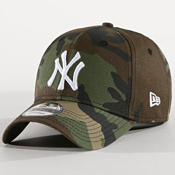 New Era - Casquette New York Yankees League 80468937 Vert Kaki Camouflage