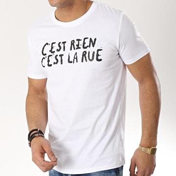 C'est Rien C'est La Rue - Tee Shirt 21 Blanc